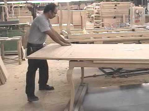 Fremarc Designs Chateau Draw Top Dining Table Video YouTube - Fremarc dining table