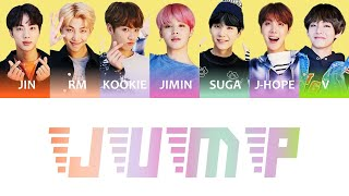 Download BTS (방탄소년단) - JUMP Color Coded Lyrics