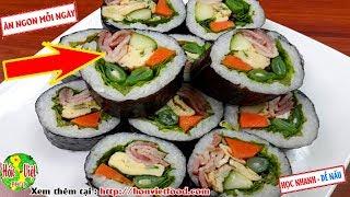 ✅ Làm Cơm Cuộn Thịt Hong Khói Đúng Chẩn Tại Nhà Mà Ngon   Hồn Việt Food