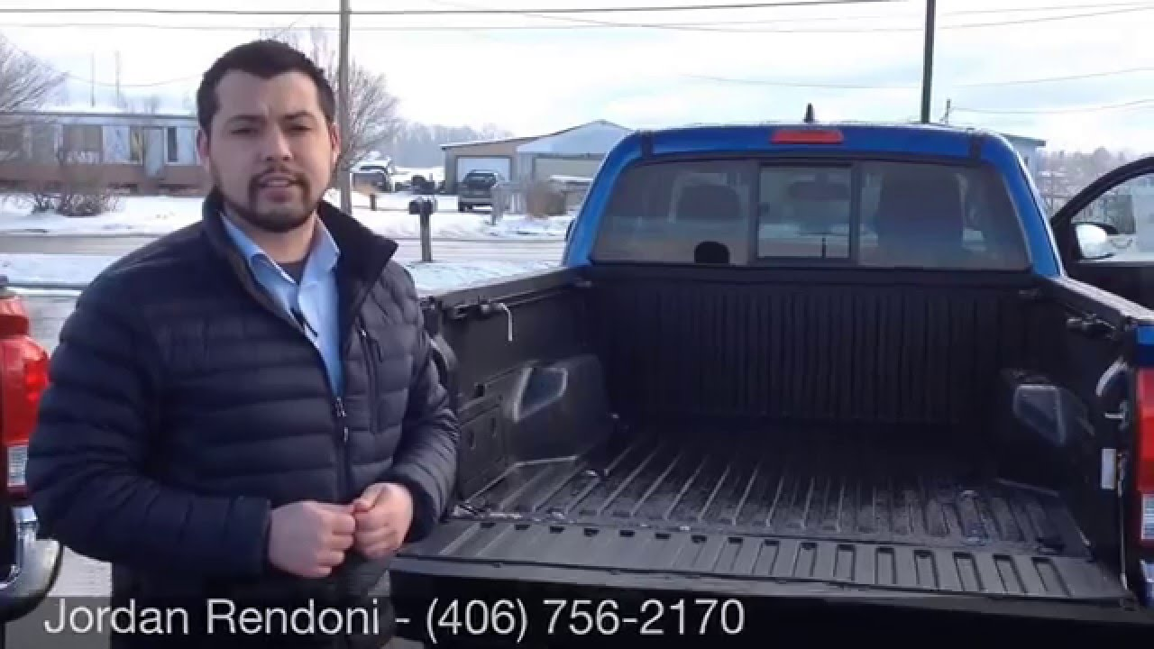 Tacoma Vs Tundra >> 2016 Toyota Tacoma for Terry | Access Cab Vs. Double Cab | Kalispell Toyota Scion - YouTube