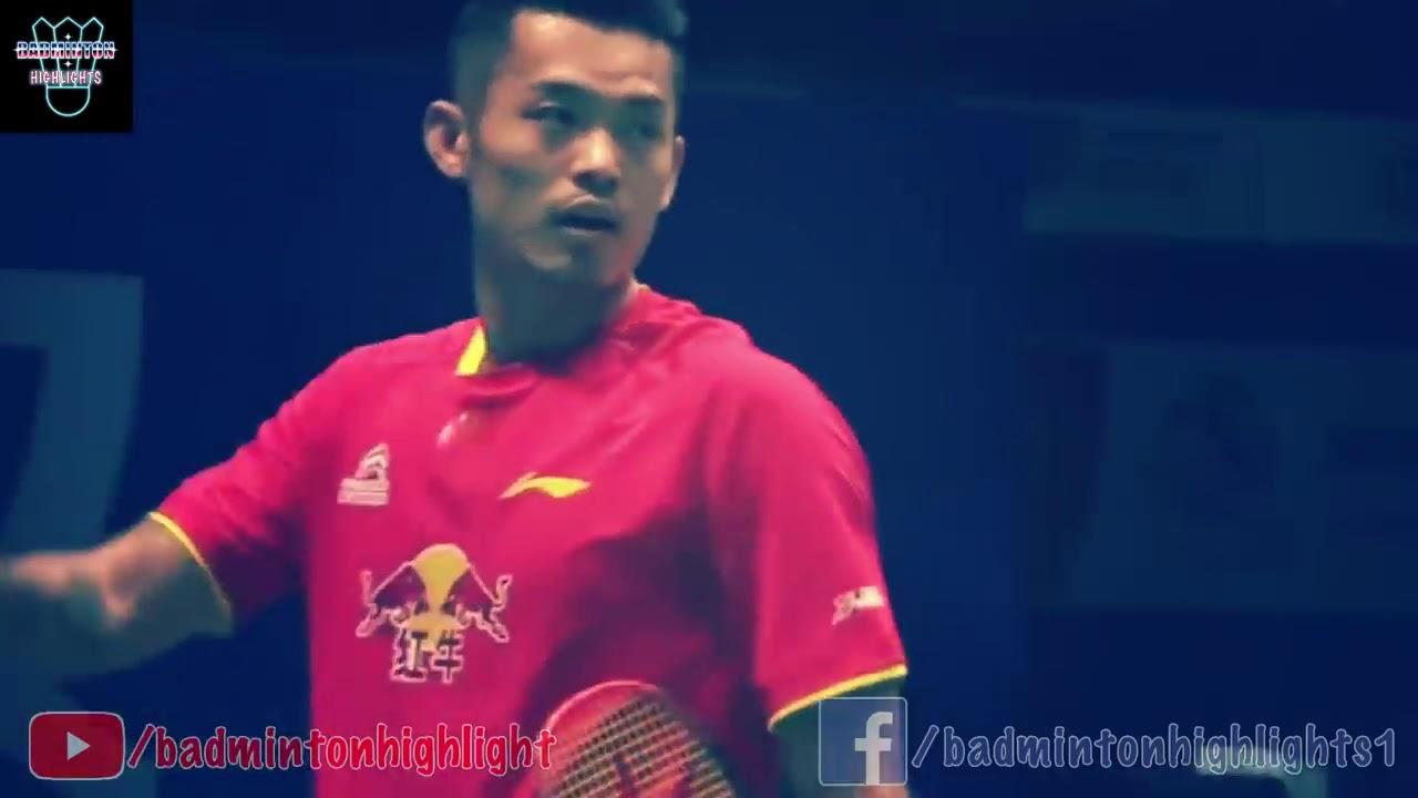 10 BEST Trick Shots by LIN DAN Badminton Highlight
