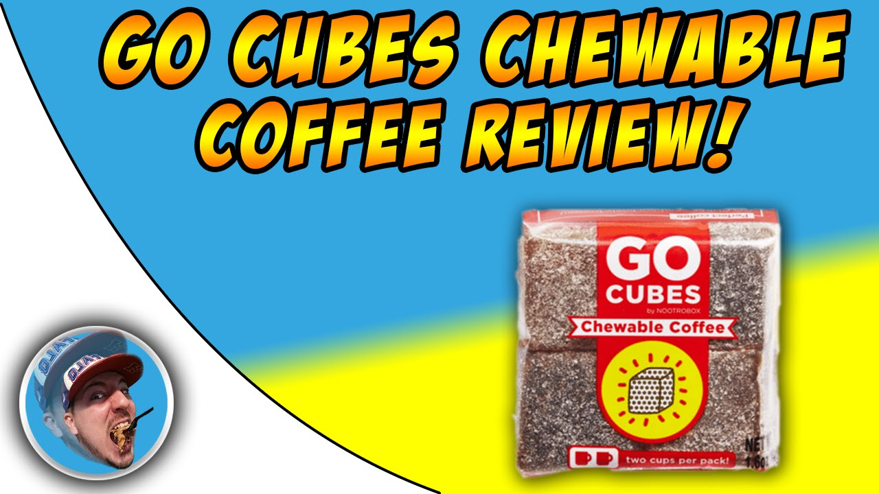 Chewable Coffee Go Cubes Review Giveaway Youtube