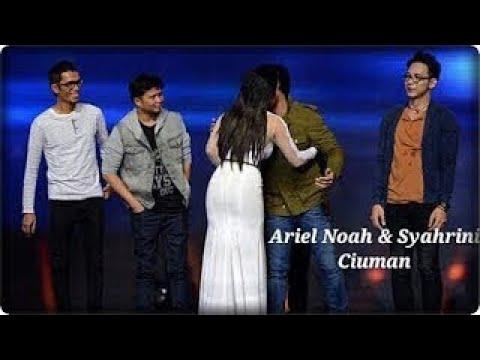 Live Ciuman Mesra Syahrini & Ariel Noah Di Depan Publik
