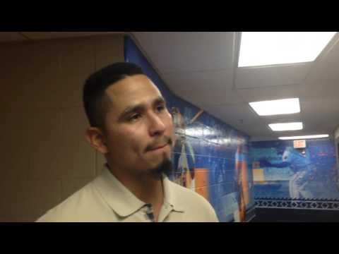 Carlos Carrasco Discussed Rehab Outing - 5/28/2016