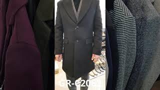 젠틀안트 남성 정장 코트 양복외투 슬림핏 울코트
