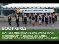 Heartache On The Dance Floor Line Dance Boot Girls Jon Pardi mp3