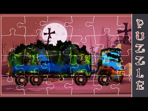 Scary Water Tank | Car Game | Puzzle Game | Car Puzzle