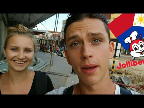 Germans Travel to the Philippines / FIRST TIME JOLLIBEE / Things to do in Bohol