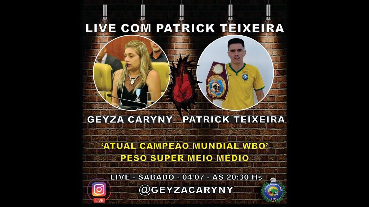 Live: Geyza Caryny e Patrick Teixeira