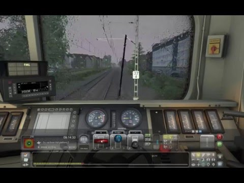 Critical run to Köln (Train Simulator 2016) raw footage