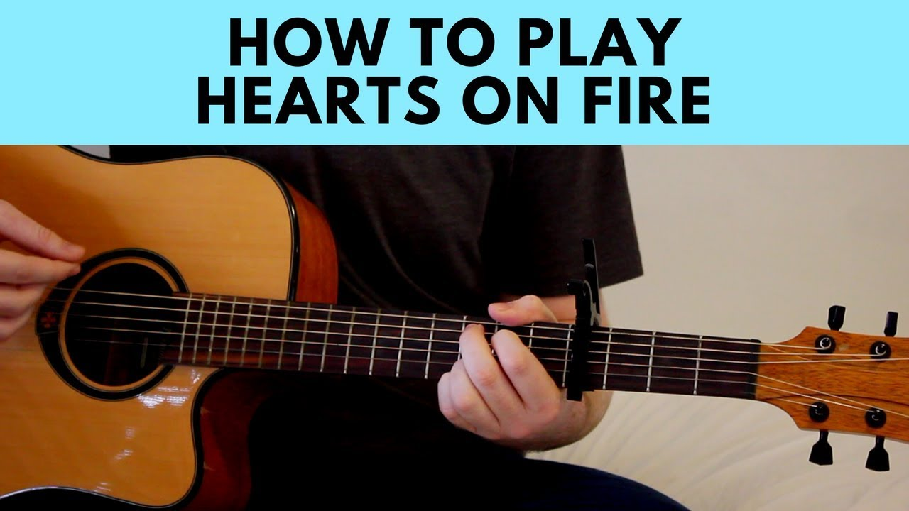 How to play hearts on fire gavin james guitar chords tutorial how to play hearts on fire gavin james guitar chords tutorial play along hexwebz Images