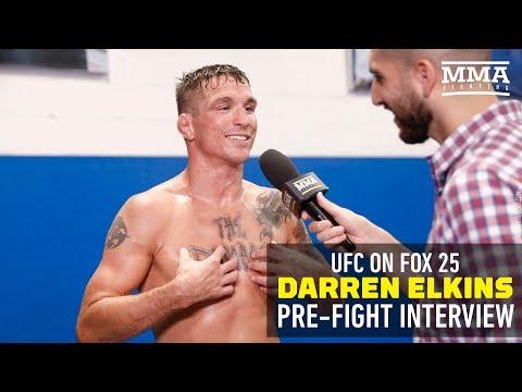 Darren Elkins Talks 'The Damage' Tattoo, Working 900 Hours as Pipefitter - MMA Fighting