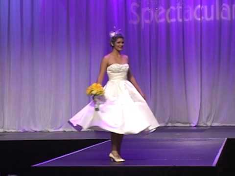 Las Vegas Wedding Fashion Show Cute Bridesmaid and Bridal Gown Collection