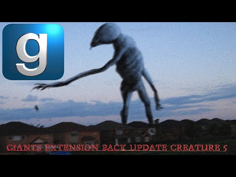 Download **NEW** GMod Trevor Henderson Giants Extension Pack Update Creature: Giant Puppeteer.