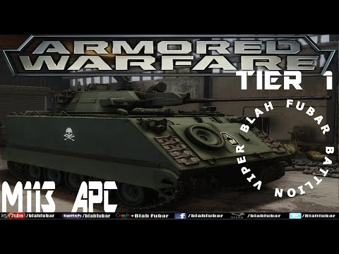 Armored Warfare.Tier 1, M113 Armored Personal Carrier, Gameplay.