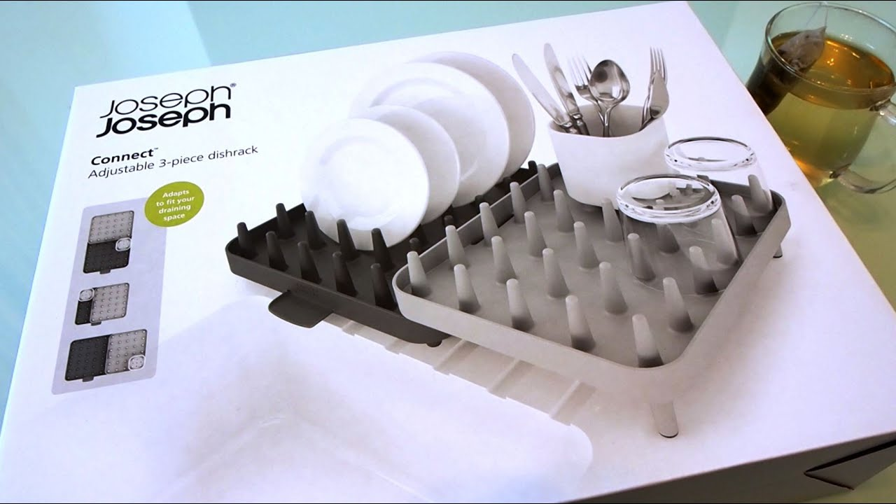 Joseph Joseph Connect Review 3pc Dish Rack Youtube