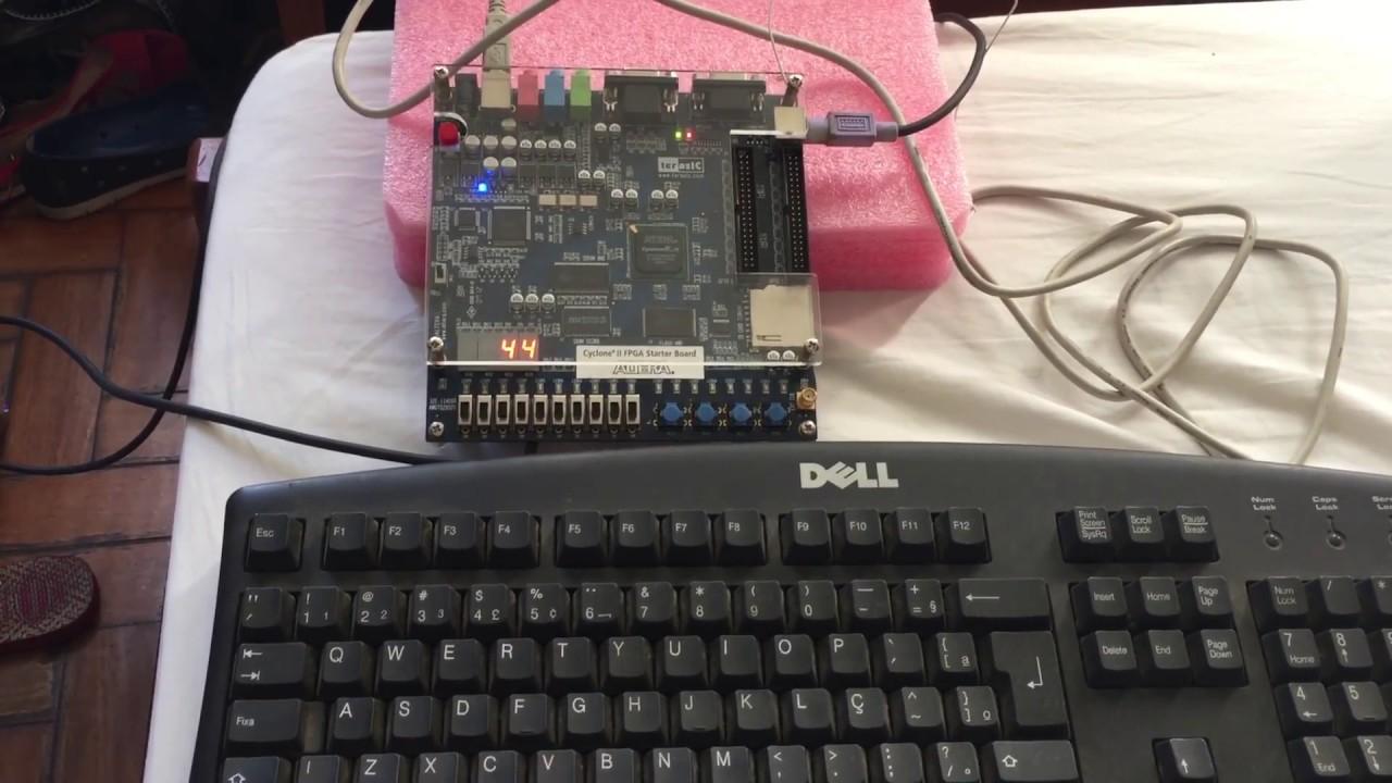 PS2 Keyboard Interface - YouTube