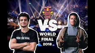 The Wolfer (AUT) vs. Luigi (USA) | Top 8 | Red Bull BC One World Final 2018