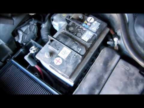 2011 jetta tdi battery replacement mk6 youtube. Black Bedroom Furniture Sets. Home Design Ideas