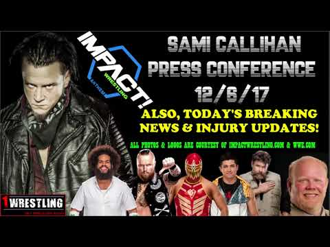 BIG RAY'S PRO WRESTLING  REPORT 12617 FEATURING THE SAMI CALLIHAN PRESS CONFERENCE!