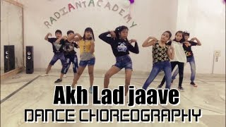 Akh Lad Jaave | Dance Choreography | Loveyatri | Aayush S|Warina H |Badshah, Tanishk Bagchi,Jubin N,