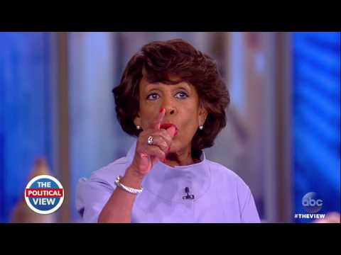 Rep. Maxine Waters On Russia Probe, White House Leaks | The View