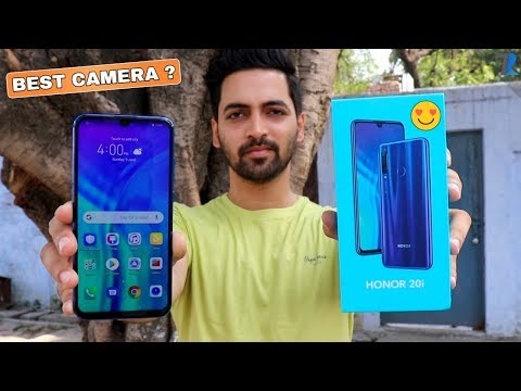 Honor 20i - Unboxing & Hands On | AI Triple Camera | Best Budget Camera Phone??