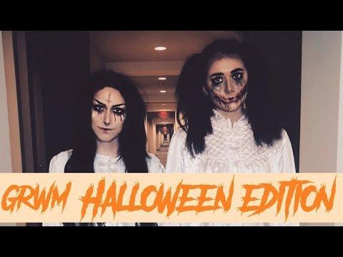 GRWM Halloween Edition LATE  Jade Graves