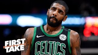 Stephen A. and Max debate whether Kyrie Irving should leave Celtics for Knicks | First Take | ESPN