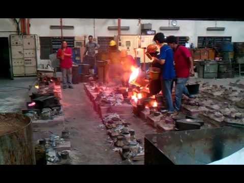 Stainless Steel Melting and Casting Process for Pump parts