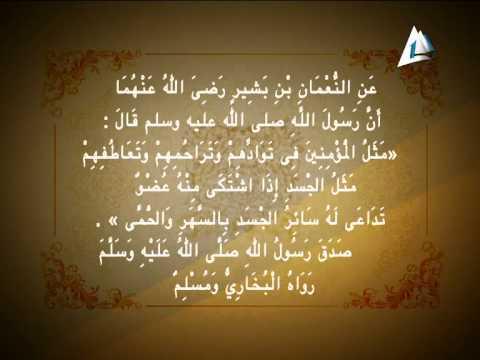 الله وسلم النبي المومنين وتراحمهم توادهم عليه صلى شبه في