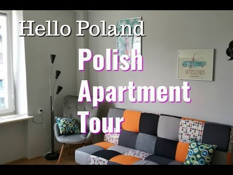 Arriving in Poland + Apartment Tour