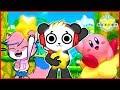 Kirby Star Allies Let's Play with VTubers Combo Panda Vs Alpha Lexa