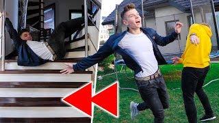 OD TYŁU CHALLENGE: spadłem ze schodów... *niebezpieczne*