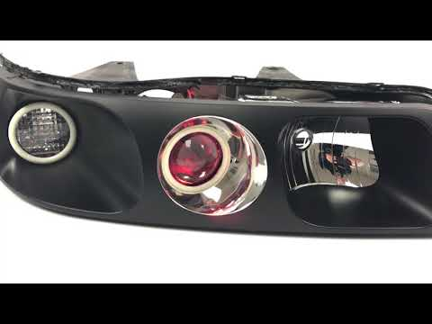 Cadillac Seville - Custom Headlights - Morimoto Halos And TL-R Projector Conversion!