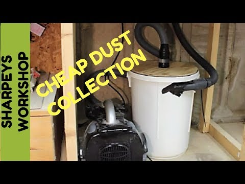 Cheap DIY dust collector