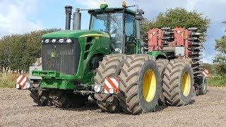 John Deere 9630 Going Deep in The Soil w/ 12-Meter Horsch Joker RT | Pure Power | DK Agri