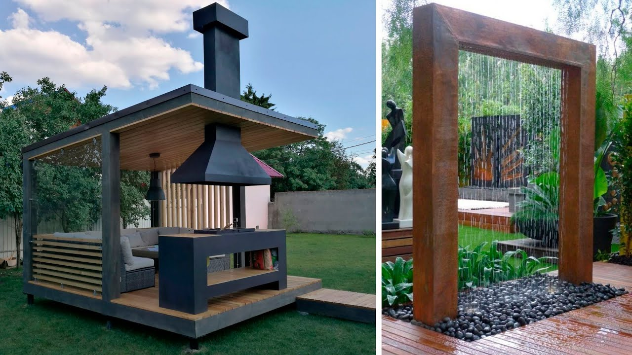 90 beautiful backyard ideas: summer kitchen, outdoor shower and outdoor bathroom!