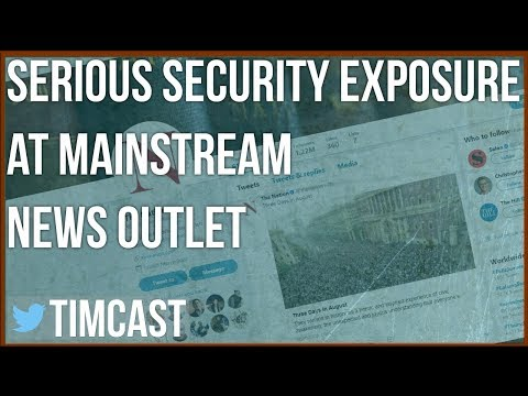 MAJOR SECURITY EXPOSURE AT MAINSTREAM NEWS SITE
