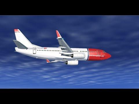 norwegian classic 737 300 wilco gatwick egkk to barcelona lebl rh youtube com