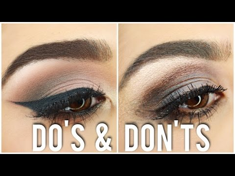 Eyeshadow Dos And Donts