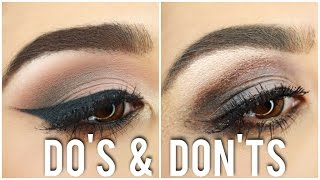Eyeshadow Do's and Don'ts  | Tips, Tricks & What Brushes to Use! | Roxette Arisa