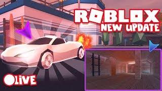 Mieliémy Asimo na live!!! Testujemy Update JailBreak Roblox!! Dobijamy 20000!!