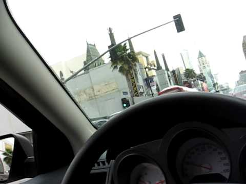 Driving passed Grauman's Chinese Theatre - Mann Theatres