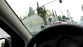 Driving passed Grauman