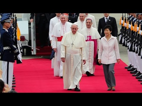 Pope Francis Visits South Korea In First Asia Trip