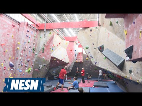 NESNFit: Boston Rock Gym...Rocks!