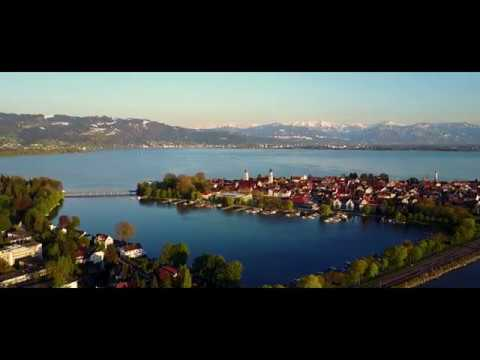 Lindau (Germany) DRONE footage 2017