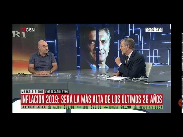 """""""Es central que se trate la ley de góndolas"""" Marcelo Siddig de ENAC en C5N"""