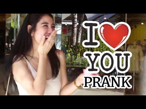 """I LOVE YOU"" PRANK INDONESIA!! Indonesia Prank."